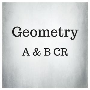 Geometry A & B CR
