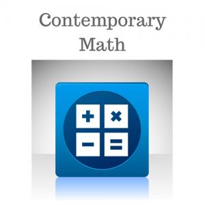 Contemporary Math (Dual Credit; M105)